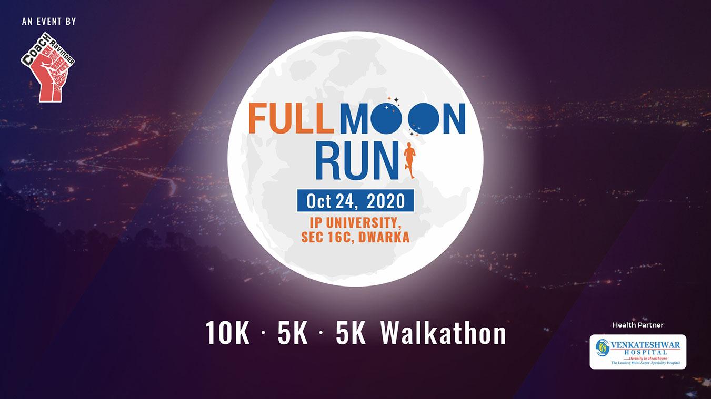 Full Moon Run, Dwarka, New Delhi, Coach Ravinder Gurugram